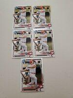 Tyler Callihan (5) Lot 2021 Bowman Prospects Chrome Base #BCP-91 Cincinnati Reds