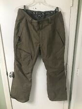 Capp3l Ride Snowboard Ski Pants Waterproof Breathable Beige Mens XL
