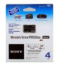 Schede di memoria Memory Stick PRO Duo per fotocamere e videocamere da 4 GB