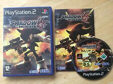 Shadow The Hedgehog Ps2 Game! Complete! Lookmin The Shop!