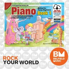 Progressive 18326 Piano Method For Young Beginners Book 1 Free CD KPYP1CP