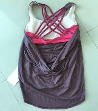 BNWT Lululemon BORDEAUX Wild Tank Top! Size 8! SUPER RARE!  < ONLY ONE >
