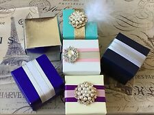 25 Favor Boxes - Perfect For Weddings & Parties