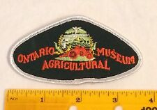 Ontario Agricultural Museum Embroidered Patch Badge agriculture farming Canada