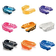 Shock Doctor Gel Max V2 Mouth Guard Gum Shield - All Contact Sports - FREE CASE