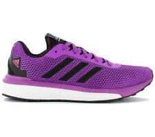 adidas Vengeful Womens Purple Black Cushioned Running Sports Shoes Trainers UK 7