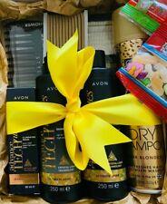 Hair Beauty Box - Pamper Hamper - Ultimate Shine - Yellow - Avon - Hair Care