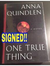 ANNA QUINDLEN (NY Times Columnist) signed 1st ed novel 1994 Hard Cover w/DJ