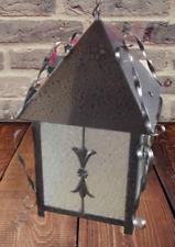 Ancienne lanterne extérieur Harry Potter Magicien halloween Ferronnerie France