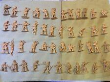 Cloni Matchbox Scala 1/32 Circa , Soldatini In Plastica Made In China (xy978)