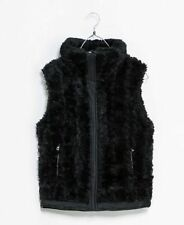 Zara Faux Fur Plus Size Zip Coats & Jackets for Women