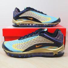 separation shoes c55cd 5e4b4 Nike Air Max Deluxe Men s Size 10.5 Midnight Navy Laser Orange AJ7831-400