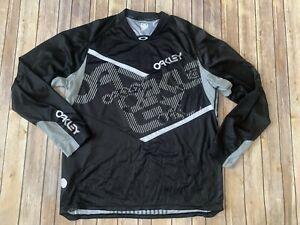 Oakley  men cycling  Jersey long sleeve  XXL black/gray - motorcross