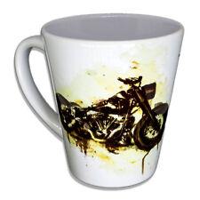 Harley Davidson - Paul Sinus Designer Porzellan Unikat, Tasse, Becher, Kaffee