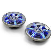 """AUNA CAR STEREO DOOR SPEAKERS SET 600W 5"""" COAXIAL LED EFFECT * FREE P&P UK OFFER"""
