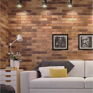 Orange / Grey Brick effect Tiles - porcelain tiles 25x6cm - Wall Tile - Sample