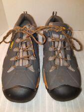 Keen 1020094 Men's San Antonio Aluminum Toe Safety Work Shoes Sz 9EE Gray