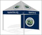 10X10 Custom LOGO Graphics Digital Print Promotional Pop Up Canopy Instant Tent