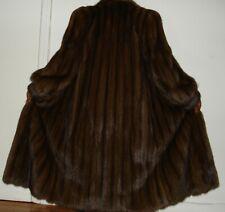 Designer Yves Saint Laurent Russian Sable Fur Coat Size 4-6 Excellent Condition