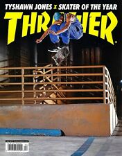 THRASHER Magazine  April 2019 - TYSHAWN JONES  SKATER OF THE YEAR!