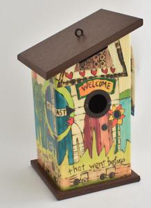 Studio M - The Lyric Project Beatles 'In My Life' - Garden Birdhouse (RARE)