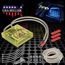 Universal Car Battery Yellow Voltage Stabilizer Regulator Ground Wire Power Kit