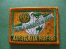 1987 WORLD SCOUT JAMBOREE PATCH- AUSTRALIA-Reproduction