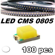 145/100# LED blanc CMS 0805 100 pcs -- SMD white -- LED blanche