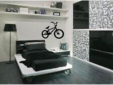 BMX Bike Bicycle Boys Girls Bedroom Kids Wall Decal Sticker Decor 24""