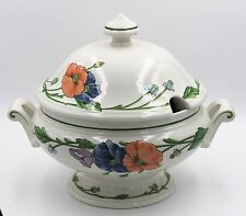 Villeroy & Boch Amapola SoupTureen with Notched Cover - Excellent
