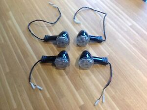 GENUINE TRIUMPH BONNEVILLE BOBBER LED INDICATORS / TURN SIGNALS QTY 4