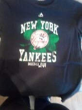 New York Yankees Large Women's T Shirt St. Patrick's Day