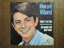 HERVE VILARD 45 TOURS GERMANY CAPRI C'EST FINI 1