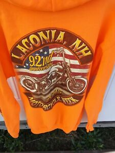 New 2015 Laconia NH Bike Rally Hoodie