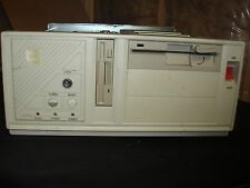 """Vintage 386 Desktop  5 1/4""""  3 1/2"""" Floppy 4MB Memory 42MB Hard Drive Computer"""