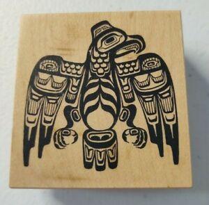 PSX ~ F-1523 Pacific Northwest Thunder Bird Tribe Spiritual Rubber Stamp ~ L9