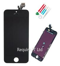 NEW BLACK APPLE IPHONE 5 5G MODEL A1428 REPLACEMENT SCREEN DISPLAY WITH TOOLS
