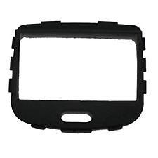 Hyundai i10 Black Double DIN Side Fix Facia Plate Autoleads Radio Stereo