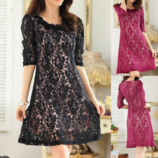 Chiffon Party Short Sleeve Floral Dresses for Women