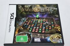 NINTENDO DS JEWEL QUEST 5 THE SLEEPLESS STAR GAME COMPLETE AUS
