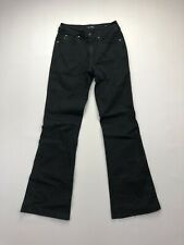 ARMANI J25 Skinny Boot Jeans - W28 L32 - Black - Great Condition - Women's