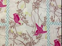 PC186A Dolce Grand Revival Cut Tissue Birds Tanya Whelan Cotton Quilt Fabric