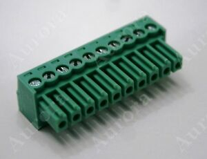 10 Pin - 3.5mm /  Pluggable Quick Connector - Terminal Block - Phoenix Plug