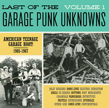LAST OF THE GARAGE PUNK UNKNOWNS VOL 1 CRYPT RECORDS LP VINYLE NEUF NEW GATEFOLD