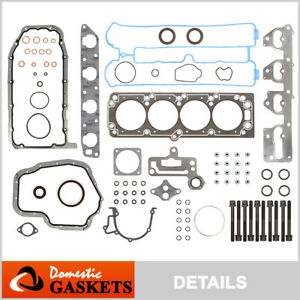 Fits 06-08 Suzuki Forenza Reno Chevrolet Optra 2.0L Full Gasket Set Bolts A20DMS