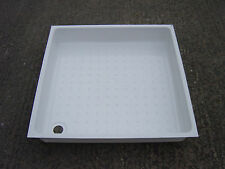 Shower Tray White PVC 670mm x 670mm x 115mm Caravan / Motorhome / Boat Wet Room