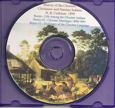 Choctaw Indian History (also Chickasaw and Natchez)