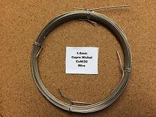 1.6mm X 10m 16 pulgadas Swg Cupro Níquel alambre marino er Cuni resistente al agua de mar
