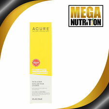 Acure Brilliantly Brightening Facial Scrub 118 ml Blackhead Pore Cleaner Face