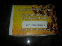 All natural soap safe pure non toxic simple lavender vanilla beeswax olive oil